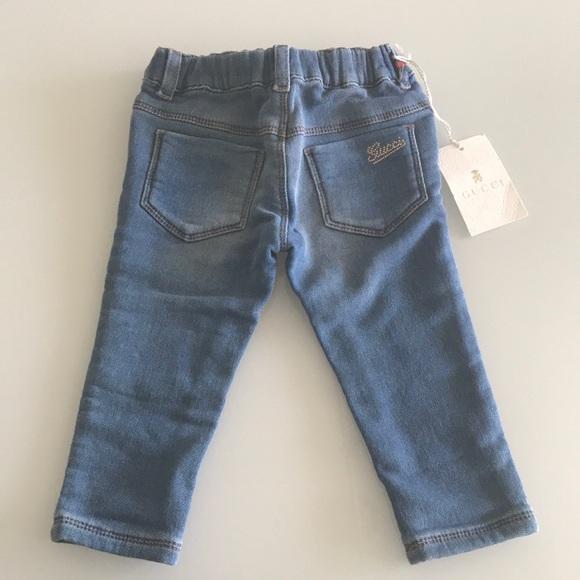56560d07dd74 GUCCI baby denim legging jeans